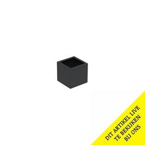 Adezz Producten Pflanzgefäß Aluminium Quadrat Florida 40x40x40cm