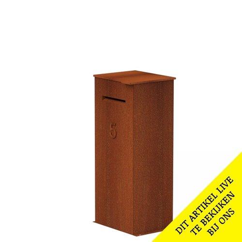 Adezz Producten Package mailbox Case Corten steel Adezz