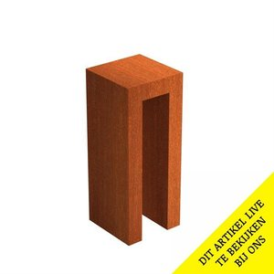 Adezz Producten Pedestal open Adezz corten steel