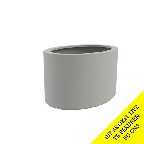 Adezz Producten Plantenbak Polyester Overig Ellipse 200x120x60cm