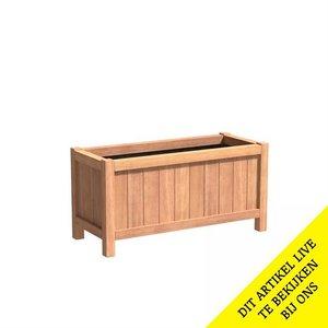 Adezz Producten Planter Hardwood Rectangle Valencia 120x50x60cm