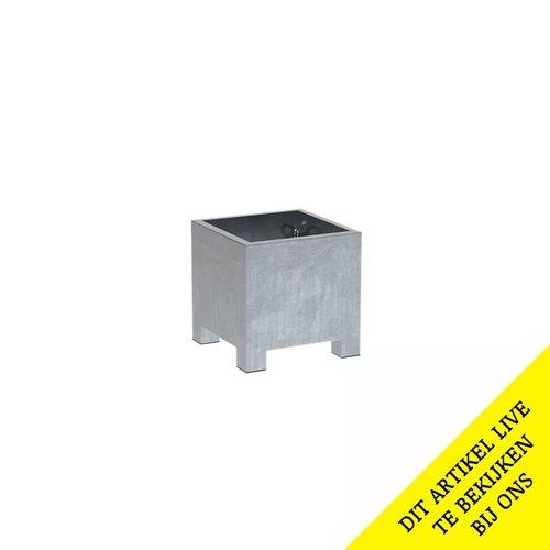 Adezz Producten Pflanzgefäß aus verzinktem Stahl Rechteck Vadim 60x60x60cm