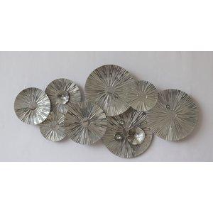 Wall decoration metal 3D Tessa