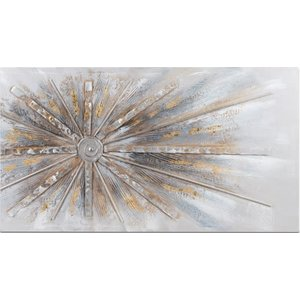 Painting canvas beam from side 100x50cm