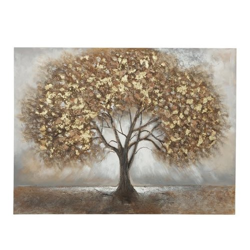 Painting canvas Tree brown 120x90cm