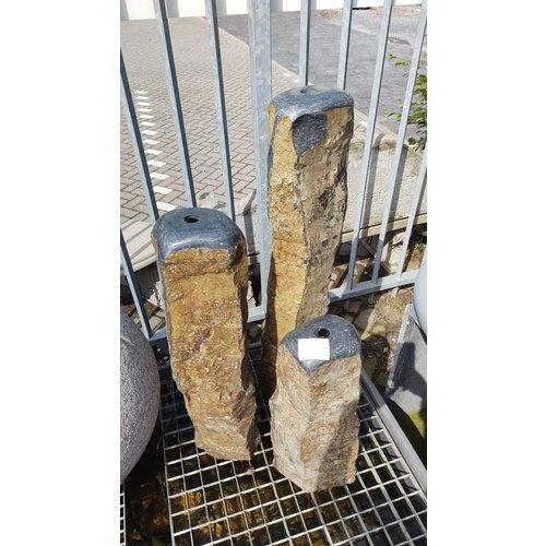 Eliassen Wasserspiel Basaltsäulen-Set Triple Nature