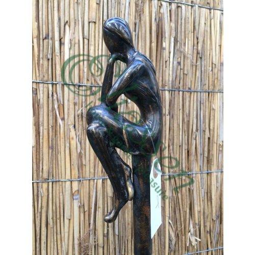 Eliassen Eliassen Bronzen Tuinsteker Meisje klein A