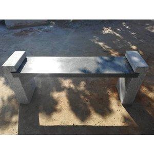 Eliassen Garden bench granite Alex gray