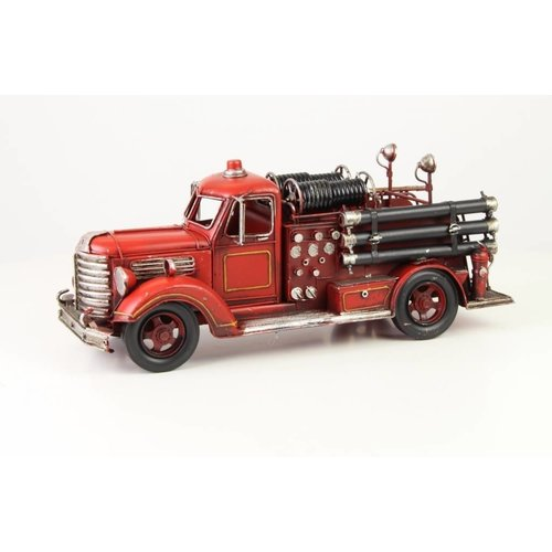 Miniature model Fire Department old-fashioned