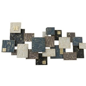 Wall deco Odalyn squares 130cm