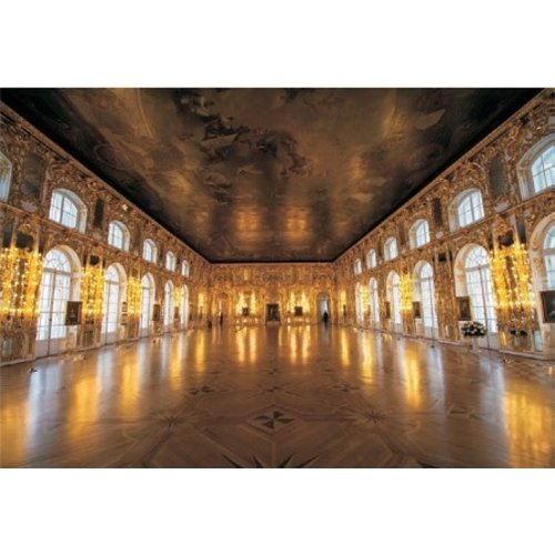 Glass painting Dance Hall 110x160cm.