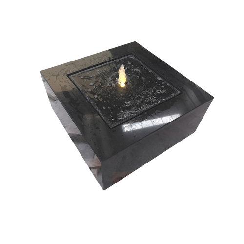 Watertafel graniet vierkant zwart Jeroen