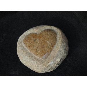Dieren urn  Hart op steen
