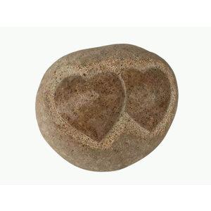 Gedenksteen 2 harten 15-18cm
