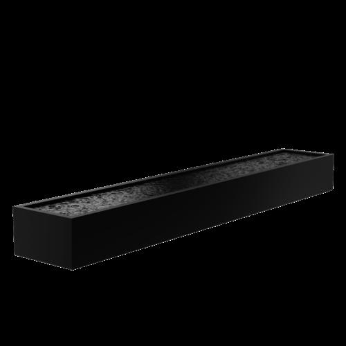 Adezz Producten Adezz Vijver Aluminium Rechthoek 600x100x60cm