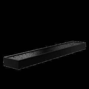 Adezz Producten Adezz Vijver Aluminium Rechthoek 600x100x40cm