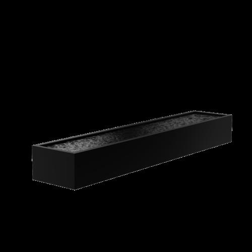 Adezz Producten Adezz Vijver Aluminium Rechthoek 500x100x60cm