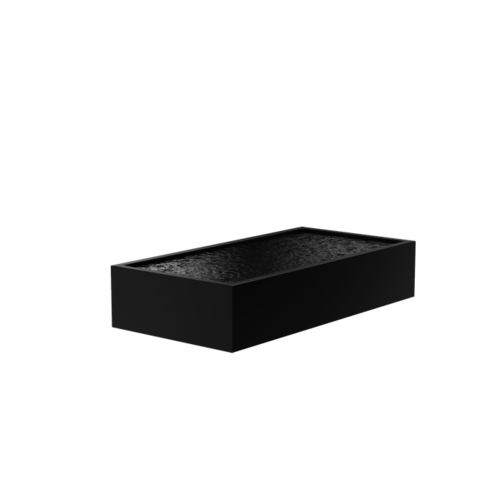 Adezz Producten Adezz Vijver Aluminium Rechthoek 300x150x60cm