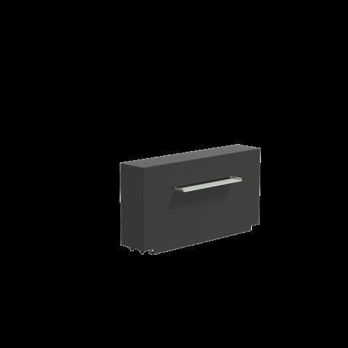 Adezz Producten Adezz Vijver Muren (Vast) (Incl. Waterfall 600 + VP3 Pump) Aluminium Rechthoek 120x25x60cm