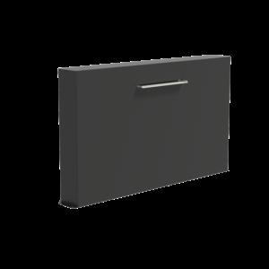 Adezz Producten Adezz Vijver Muren (Vrij) (Incl. Waterfall 600 + VP3 Pump) Aluminium Rechthoek 200x25x120cm