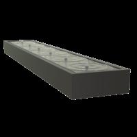 Adezz Watertafel Aluminium Rechthoek 600x100x40cm
