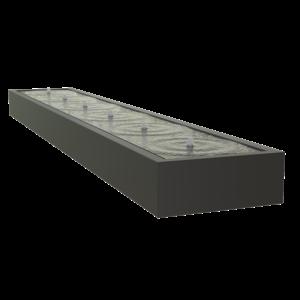 Adezz Producten Adezz Watertafel Aluminium Rechthoek 600x100x40cm