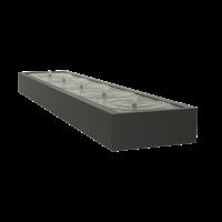 Adezz Watertafel Aluminium Rechthoek 500x100x40cm