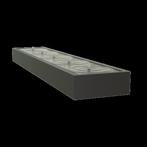 Adezz Producten Adezz Watertafel Aluminium Rechthoek 500x100x40cm