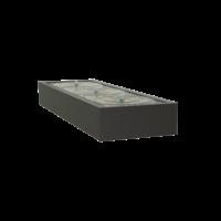 Adezz Watertafel Aluminium Rechthoek 300x100x40cm