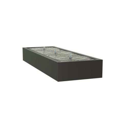 Adezz Producten Adezz Watertafel Aluminium Rechthoek 300x100x40cm