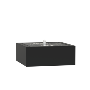 Adezz Producten Adezz Watertafel Aluminium Vierkant 100x100x40cm