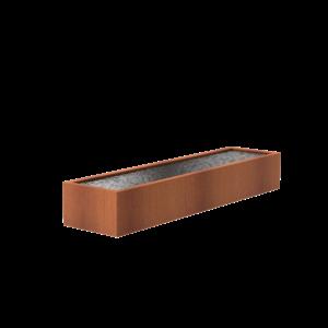 Adezz Producten Adezz Vijver Cortenstaal Rechthoek 400x100x60cm