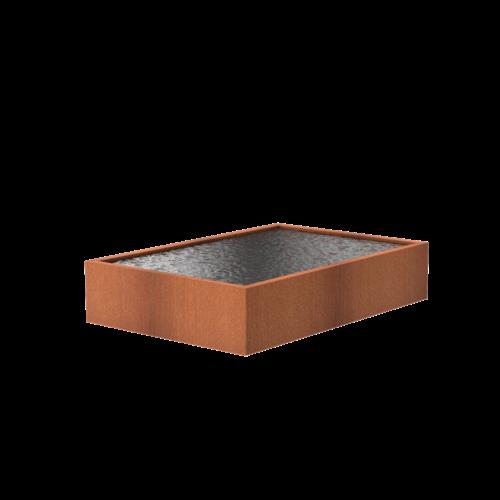 Adezz Producten Adezz Vijver Cortenstaal Rechthoek 300x200x60cm
