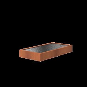 Adezz Producten Adezz Vijver Cortenstaal Rechthoek 300x150x40cm