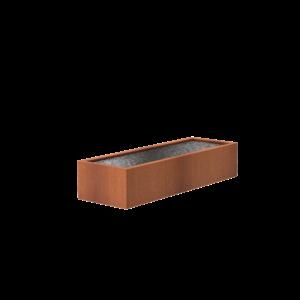 Adezz Producten Adezz Vijver Cortenstaal Rechthoek 300x100x60cm