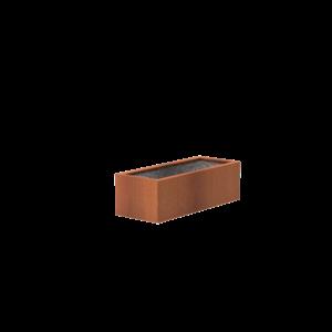 Adezz Producten Adezz Vijver Cortenstaal Rechthoek 200x80x60cm