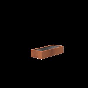 Adezz Producten Adezz Vijver Cortenstaal Rechthoek 200x80x40cm