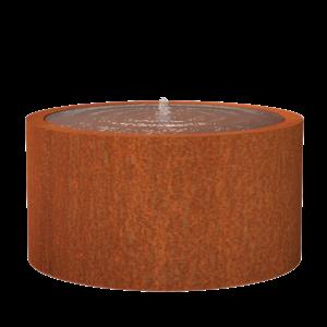 Adezz Producten Adezz Watertafel Cortenstaal Rond 145x75cm