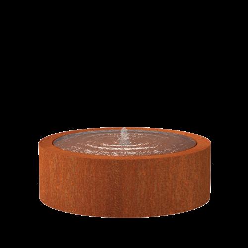 Adezz Producten Adezz Watertafel Cortenstaal Rond 120x40cm