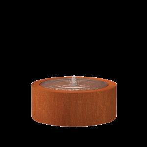 Adezz Producten Adezz Watertafel Cortenstaal Rond 100x40cm