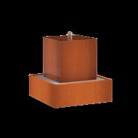 Adezz Waterblok Cortenstaal Vierkant 70x70x70cm
