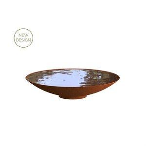 Adezz Producten Adezz Waterschaal Cortenstaal 100x21cm