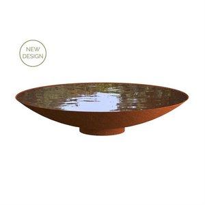 Adezz Producten Adezz Waterschaal Cortenstaal 150x31cm