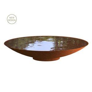 Adezz Producten Adezz Waterschaal Cortenstaal 200x31cm