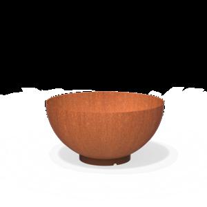 Adezz Producten Adezz Waterbowl Cortenstaal 100x51cm