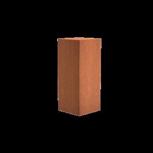 Adezz Producten Adezz Sokkel Cortenstaal Vierkant 50x50x120cm