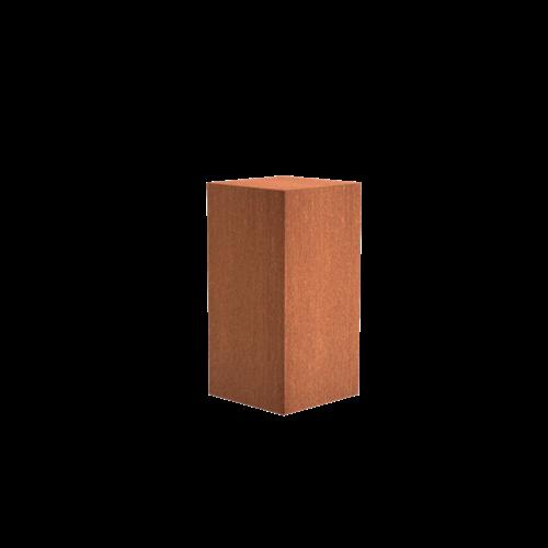 Adezz Producten Adezz Sokkel Cortenstaal Vierkant 50x50x100cm