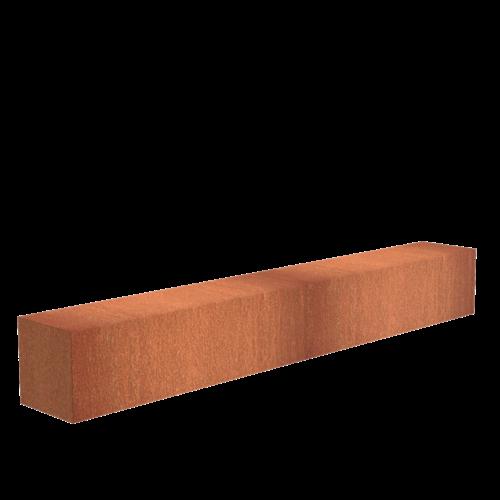 Adezz Producten Adezz Sokkel Cortenstaal Rechthoek 300x40x40cm