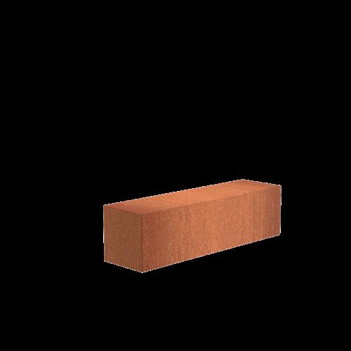Adezz Producten Adezz Sokkel Cortenstaal Rechthoek 150x40x40cm