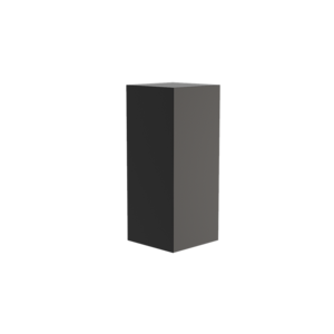 Adezz Producten Adezz Sokkel Aluminium Vierkant 50x50x120cm